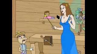 Animated Pinocchio spoof, part 1