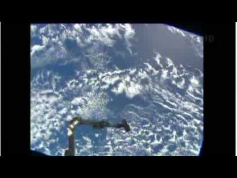 Orbital Sciences Cygnus ISS Supply Ship Rendezvous And Berthing Coverage From NASA TV