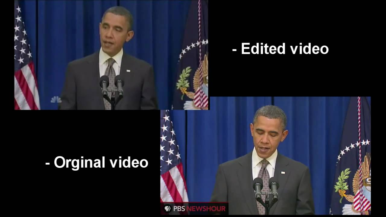 Obama Kicks Door Open Original Video Comparison Youtube
