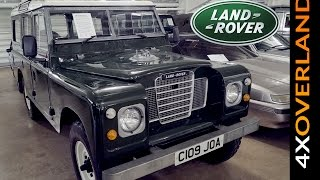 LAND ROVER MUSEUM. The Collection at British Motor Museum.