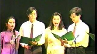 Văn Nghệ Liên Trường Montreal 1992 : Universite Sherbrooke - Khải Hoàn  ca