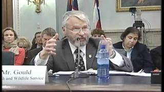 Rep. Runyan Subcommittee on Fisheries, Wildlife, Oceans and Insular Affairs on March 2
