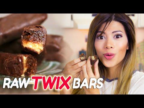 OMG Healthier Twix Chocolate Bars