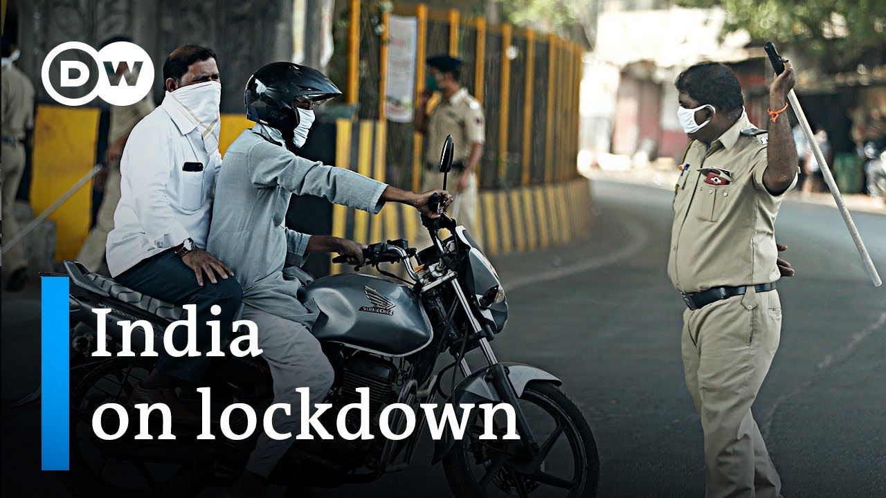 India imposes world's biggest Coronavirus lockdown | DW News