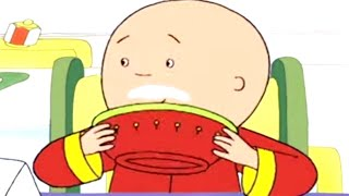 Funny Animated Cartoons 🍵 Caillou's Drink Bowl 🍵 Caillou Holiday Movie | Cartoons for Kids