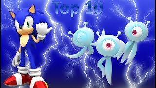 Top 10 Favorite Sonic Games (sonic Month 2016)