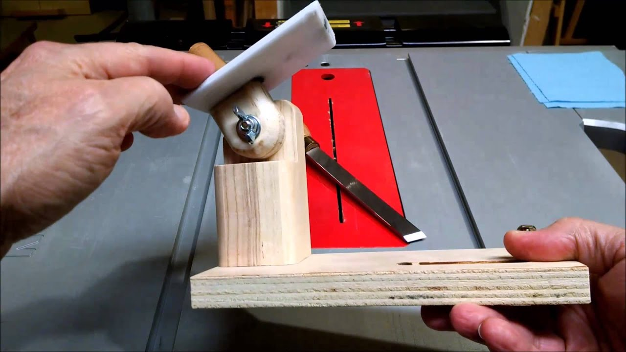 Bench Grinder Tool Sharpening Jig Youtube