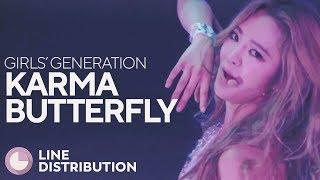 GIRLS' GENERATION - Karma Butterfly (Line Distribution)