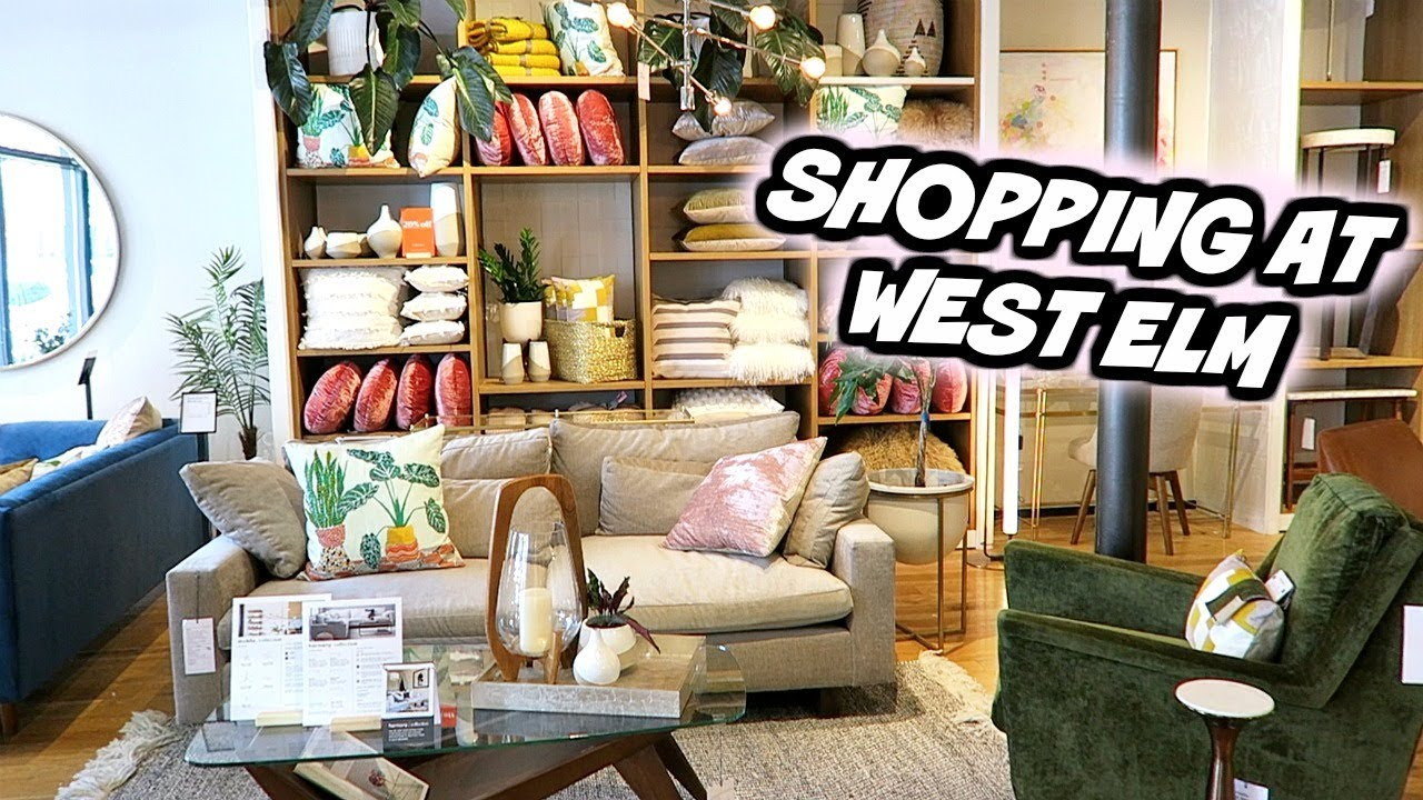 FURNITURE AND HOME DECOR SHOPPING AT WEST ELM ...