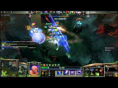 Dota 2 Burning - Dota 2 Legends - DK Burning Vs Alliance - TI3