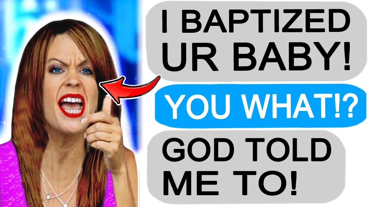 "r/Entitledparents ""KAREN BAPTIZES MY BABY!"""