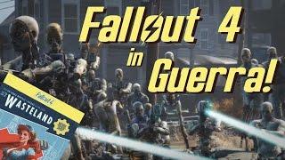 FALLOUT 4 IN GUERRA - Gunner Vs. Predoni Wasteland Workshop DLC