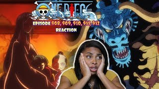 WELP EVERYONE IS SCREWED! | ONE PIECE EPISODE 908, 909, 910, 911, 912 REACTION