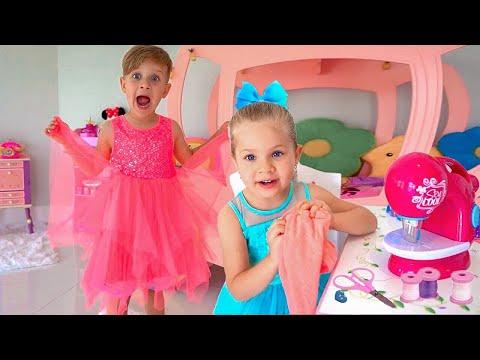 子供のためのダイアナとビデオ-コンパイル Japanese Diana Show Japan - http://bit.ly/2CmlK2K Kids Diana Show - http://bit.ly/2k7NrSx ...