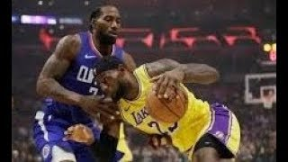Los Angeles Lakers vs Los Angeles Clippers Opening Night For The 2019 20 Season