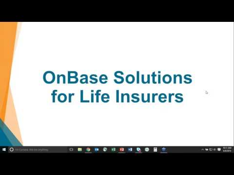 Enterprise Document Management for the Life Insurance Industry - Key Strategies