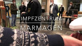 Impfzentrum in Marmagen