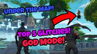 Fortnite Glitches Season 5 (100% working) Top 5 God Mode glitches PS4/Xbox one