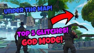Fortnite Glitches Season 5 (100% working) Top 5 God Mode glitches PS4/Xbox one