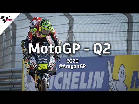 Last Minutes Of MotoGP Q2 | 2020 #AragonGP