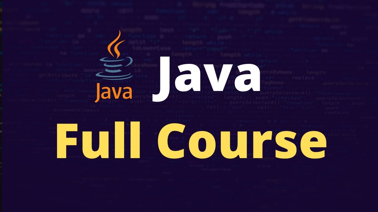 Download Java Tutorial for Beginners to Expert [Full Course - 2020]
