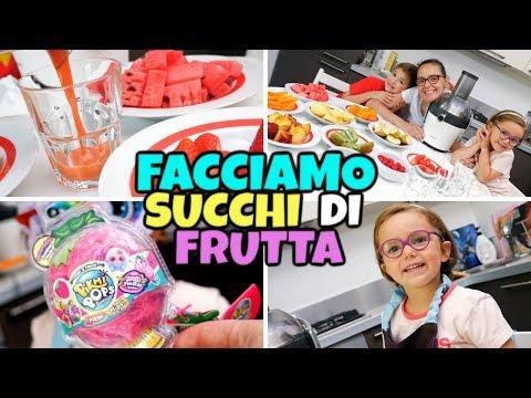 FACCIAMO I SUCCHI DI FRUTTA e Apriamo i PIKMI POPS Fruit Fiesta
