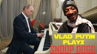Putin Plays the Piano! Funny LOL