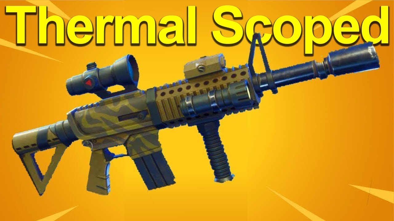 thermal scoped ar breakdown youtube