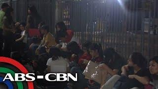 TV Patrol: UPCAT forms, magdamag pinilahan ng mga senior high mula PUP