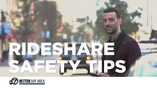 Taking Uber or Lyft? Here's how to stay safe in a rideshare.