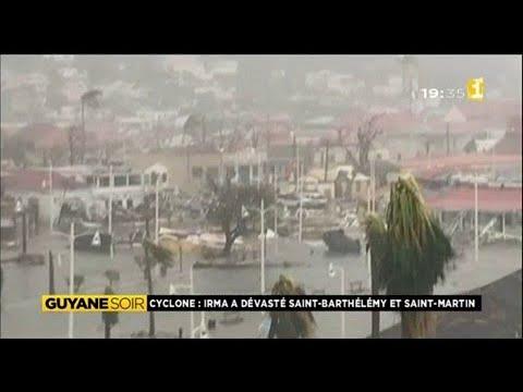 St Martin et St Barthélémy dévastées par le cyclone Irma
