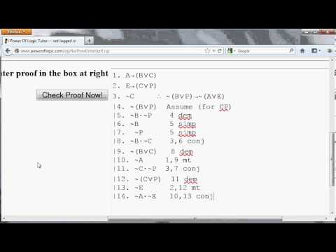 Logic9 Proofs with CP and RAA