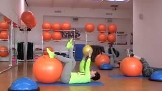 Pilates/ Пилатес для позвоночника, мышц живота и спины.