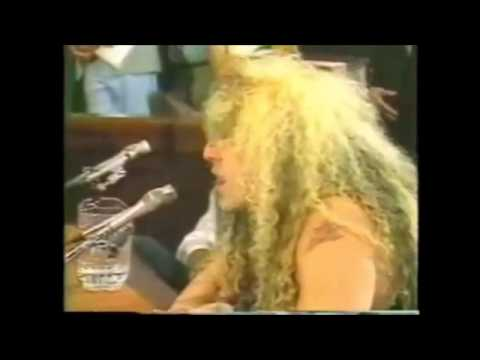 Dee Snider's PMRC Senate Hearing Speech (Full)
