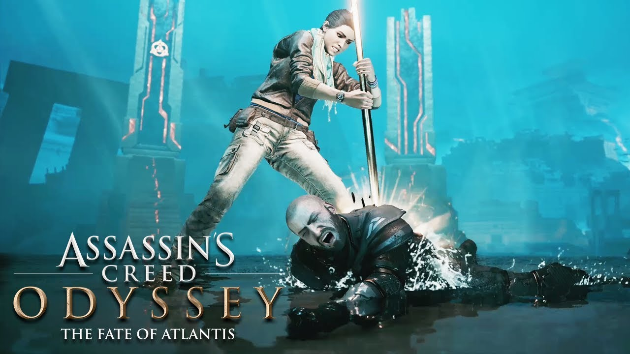 Assassin S Creed Odyssey The Fate Of Atlantis Episode 3 All Cutscenes Movie Game Movie Youtube