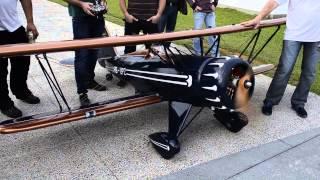 The Beast Moki 400 Radial Engine Crash