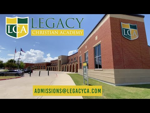 Legacy Christian Academy VIDEO TOUR