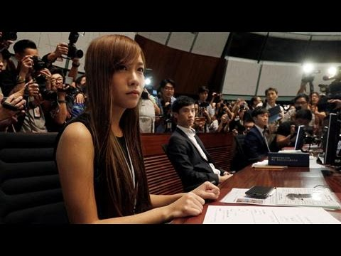 Hong Kong Legislature Descends Into Disorder