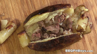 Steak Stuffed Potatoes recipe