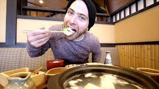 JAPANESE Tofu Hotpot FEAST + Kiyomizu-Dera Temple Tour | Kyoto, Japan thumbnail