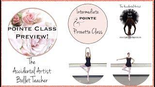 Intermediate Pointe/Pirouette Class 1