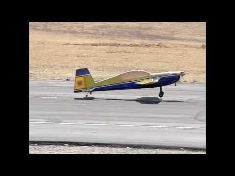 Slow Motion RC Planes, Crosswinds Field 8-31-2013 V12912