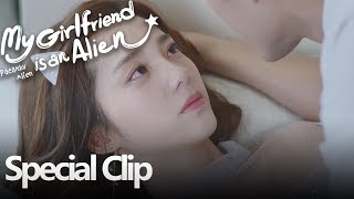 My Girlfriend Is An Alien | Special Clip Xiao Qi Telah Jatuh Cinta | 外星女生柴小七 | WeTV 【INDO SUB】