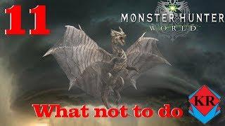 What not to do when fighting a Kushala Daora Monster Hunter: World
