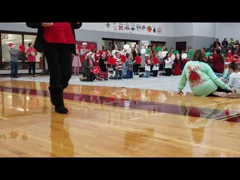 Poolville Elementary School Xmas Program 2018