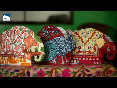 Watch: 'Crewel - The heritage craft of Kashmir.'