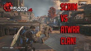 Scrim vs atWAR Clan! KOTH | Gears Of War 4 PC Gameplay