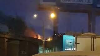 Очевидцы: 'В Балакове горит ГЭС'
