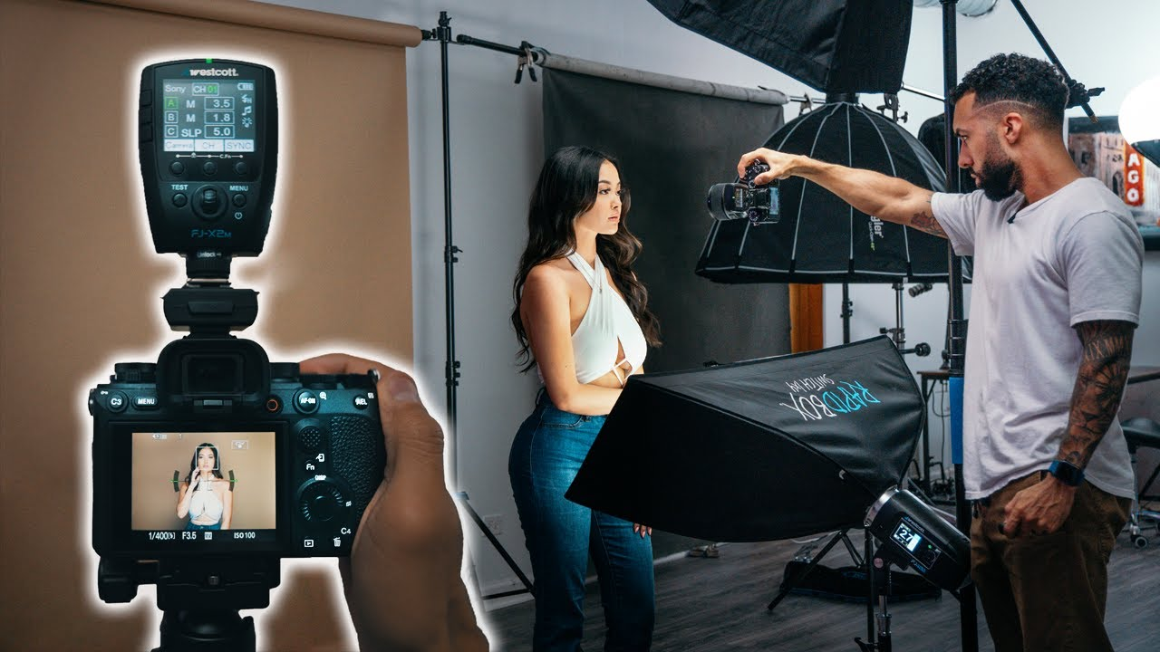 Download My #1 FOOLPROOF Beauty Lighting setup for STUNNING Portraits!