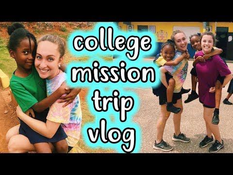 COLLEGE MISSION TRIP VLOG! UGA FRESHLEY JAMAICA 2018! Spring Break Vlog